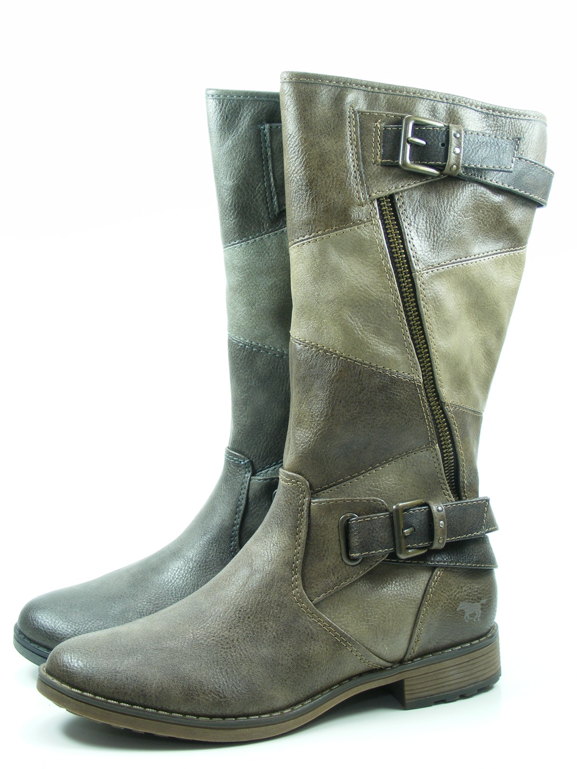 Mustang 1265-507 Chaussures Femmes Bottines Bottes