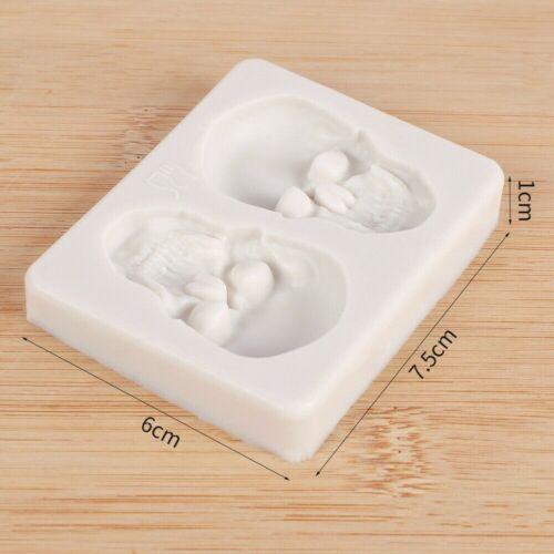 Silicone Fondant Cake Mold Sugarcraft Chocolate Decorating DIY Baking Mould Tool