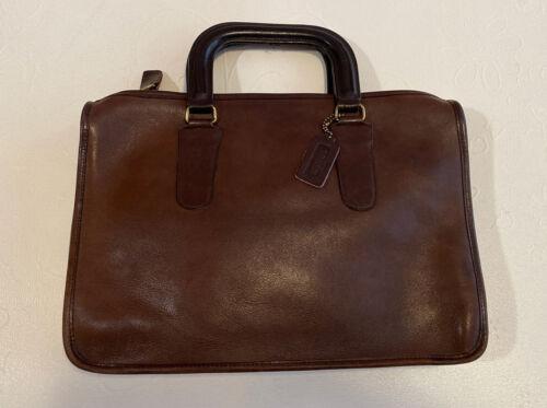 Vintage COACH Bonnie Cashin Small Leather Briefcas