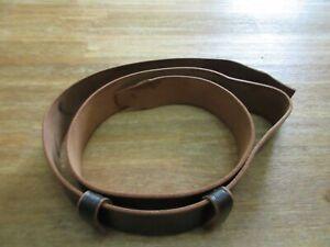 Russ. Dienst Kapasi Schwarz-140cm 45mm Belt Leather Belt Universal