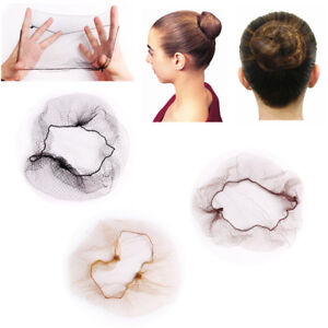 Image is loading Fashion-Ballet-Snood-Invisible-Hair-Nets-Hair-Styling- afd104f69779
