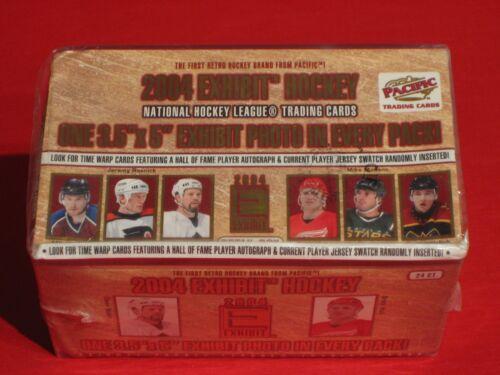 Pacific Trading Cards MEGA RAR NEU OVP NHL 2004 Exhibit Hockey Cards