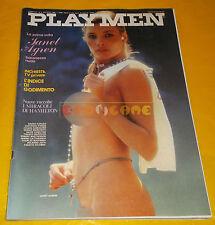 PLAYMEN N. 8 Agosto 1980 - Janet Agren