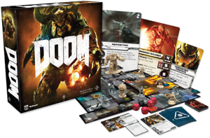 DOOM THE BOARD GAME - SECOND EDITION  - BOARD GAME - FANTASY FLIGHT