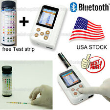 "New Rechargable BC401 Urine Analyzer, 2.4"" LCD,free test strips,bluetooth,USA"