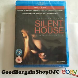 Silent House (Blu-ray, 2012) *New & Sealed* rc