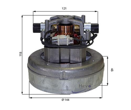 Hevo-Pro-Line® Saugmotor Sonderpreis 230 Volt 1000 Watt z.B Cleanfix S 10