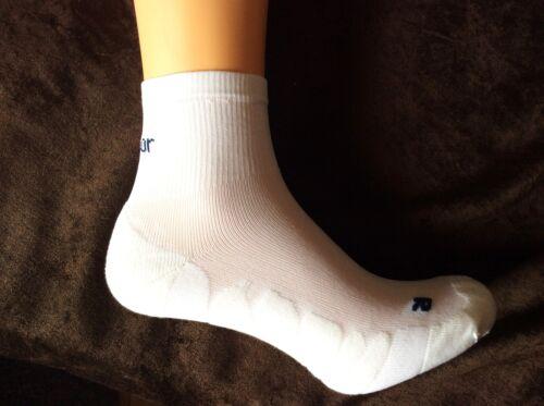 Blanc homme professionnel qualité karrimor dri chaussettes de course 7//11 40//46 respirant
