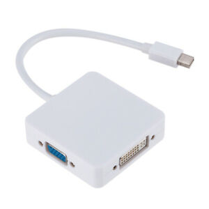 Mini-3-In1-Display-Port-DP-Thunderbolt-to-DVI-VGA-HDMI-Adapter-Cable-For-MacBook