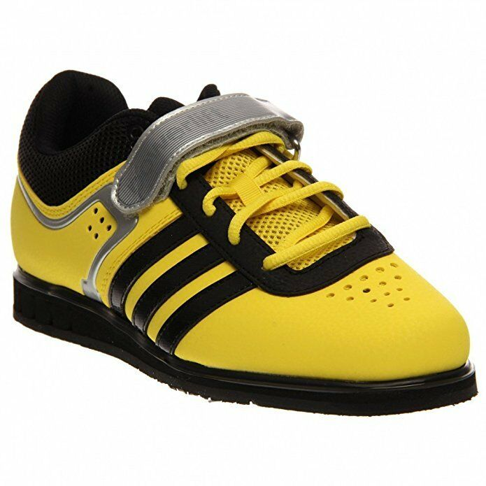 Adidas Powerlift 2 Trainer - Men's Power Lifting Shoes - Yellow & Black - G96434