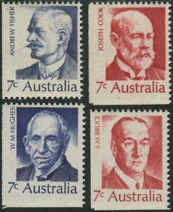 Australia-1972-SG505-Famous-Australians-set-MNH