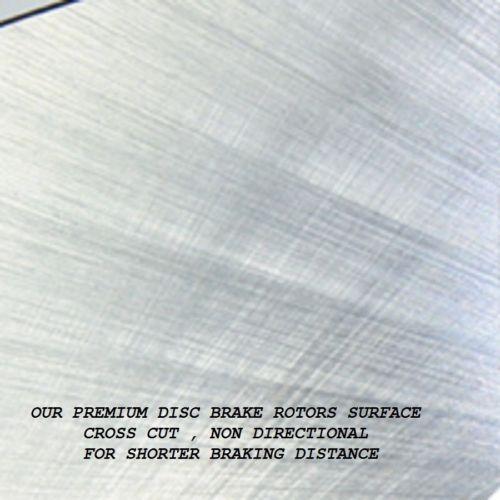 Fit Toyota Highlander 2008-2013 31507X2 Verto USA Set Of Rear Brake Rotors