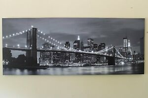 Large-Brooklyn-Bridge-New-York-Canvas-Picture-Print-With-LED-Lights