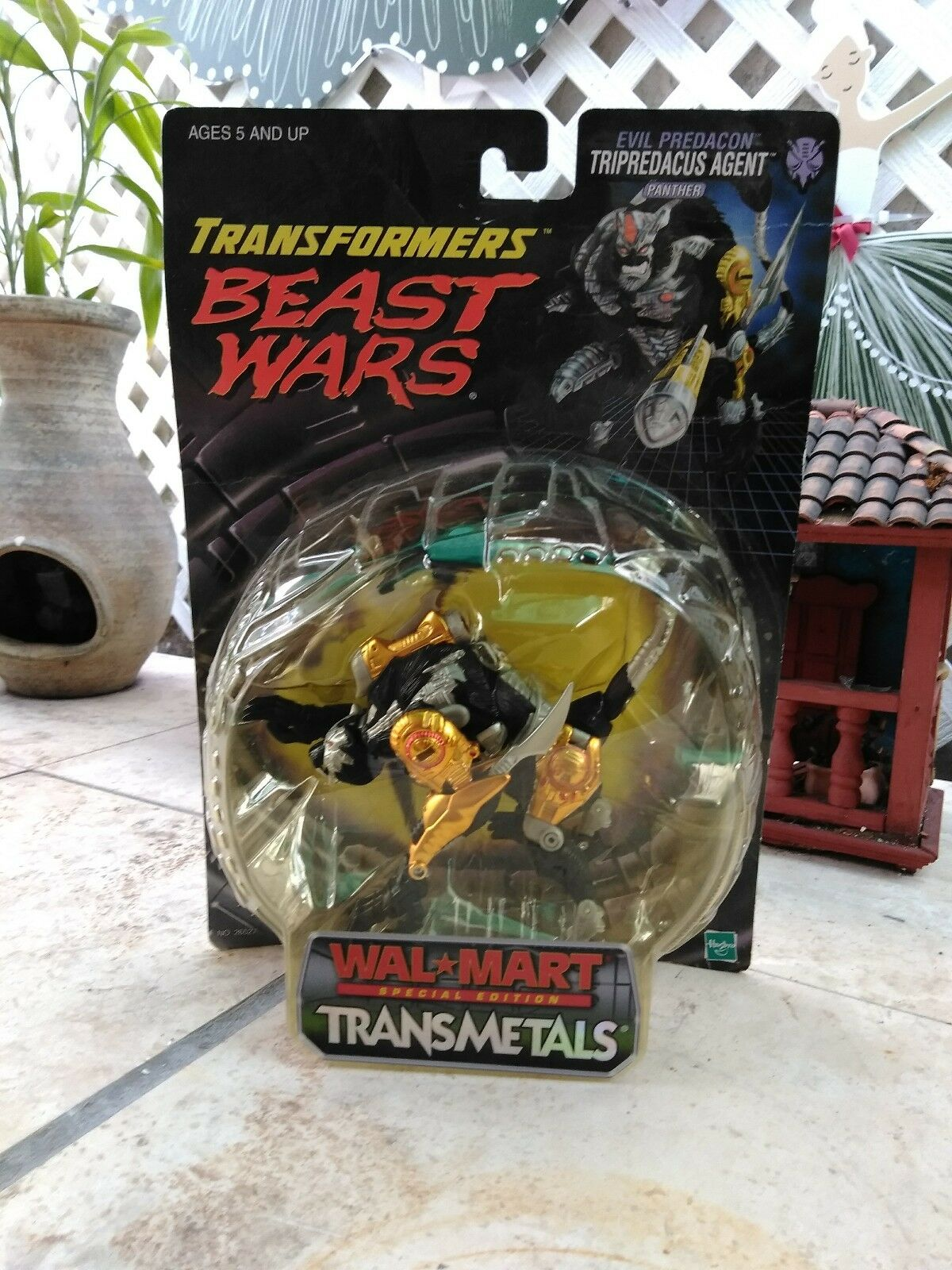 Japanese 2 pack and Walmart transformers beast wars triprotacus agent