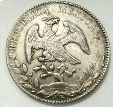 MEXICO 8 REALES 1884 MO MH