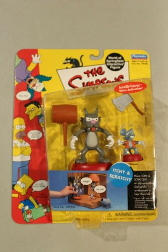 U PICK SEALED Simpsons figures WOS RARE Homer Bart Itchy Scratchy Krusty Moe MOC