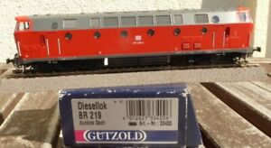 Gutzold-33400-h0-Locomotive-BR-219-059-3-DB-AG-ep-5-6-avec-DSS-engrenages-defectueux