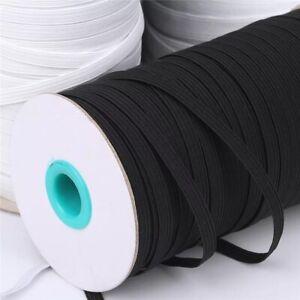 Elastisches Band Für Mundschutz Elastikband Weiß Schwarz 3mm Und 5mm Diy