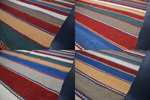 Handgewebter Ghashgai Kelim Per Teppich Handarbeit wolle verschiedene Größe