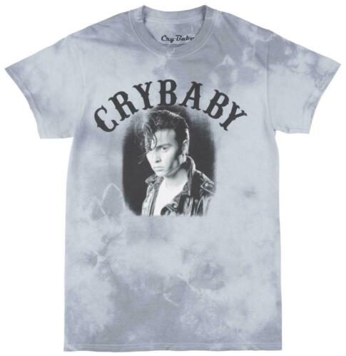 Cry Baby Retro Throwback Movie Johnny Depp Graphic Tee Comedy Tie Dye Mens Smoke