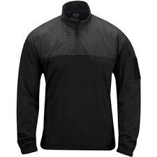 US PROPPER LS1 Practical Fleece Pullover Tactical Outdoor Police Polizei Black L