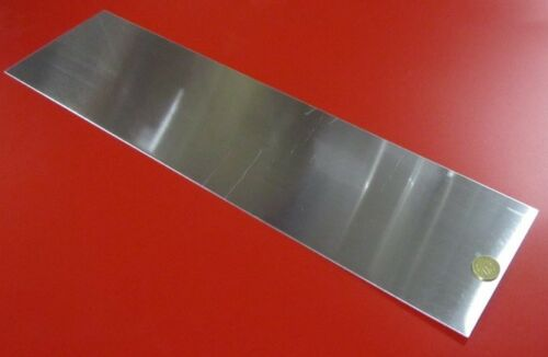 """1100 Aluminum Sheet Softened O .040/"""" Thick x 6.0/"""" Wide x 24.0/"""" Long"""