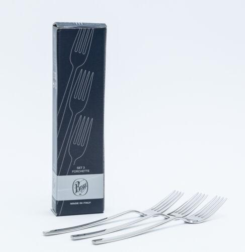 Broggi Zefiro Gabeln Küchengabel Besteck Set 3 Teiliges Gabel Set Edelstahl