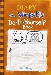 Diary of a wimpy kid do it yourself book by jeff kinney 2008 diary of a wimpy kid do it yourself book by jeff kinney 2008 hardcover solutioingenieria Images