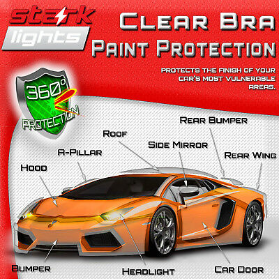 Clear Paint Protection Bra Layer Film Car Vinyl Wrap Invisible Scratch Shield