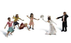 H0-Woodland-Scenics-A1932-Figuren-Set-Hochzeit-Neu-OVP