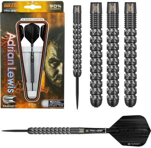 Target Jackpot Adrian Lewis 90/% Tungsten 23g Steel Tip Darts