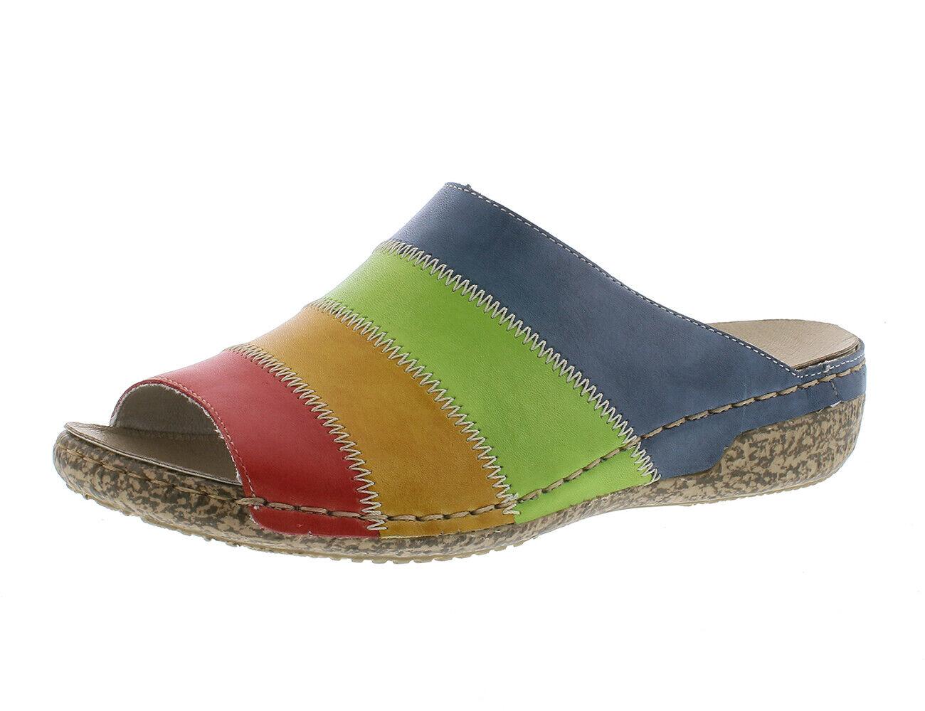 Rieker v7266-34 sandalias zapatos sandalias Clogs extra lejos