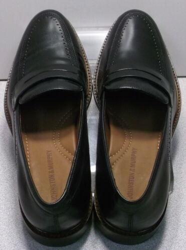 150431 MS50 Men/'s Shoes Size 11.5 M Black Leather Slip On Johnston /& Murphy
