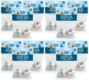 12-Pack-Fluker-039-s-Hermit-Crab-Growth-Shells-Small-3-Shells-Per-Pack