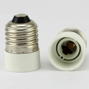 E27 to E14 Bulb Base Converter Light Socket Adaptor F1R4 ...