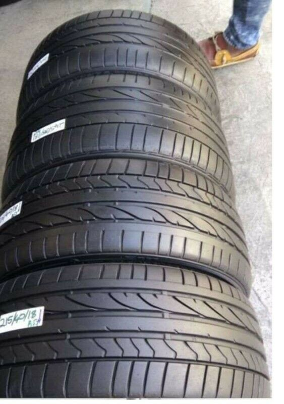 BMW 1 Serise 245/35/18 and 225/40/18 Runflat for sale