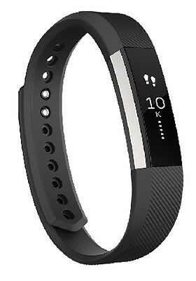 Fitbit Alta Fitness Tracker Wrist Band Watch Small (Black)