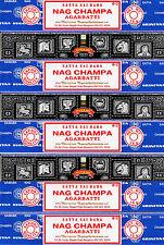 5 Box Nag Champa & 3 Box Super Hit Satya Sai Baba Incense 2016 series 15gm / Box
