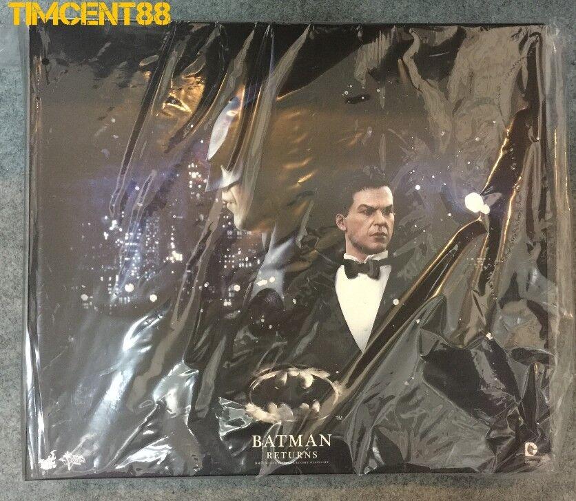 The Hot Juguete MMS 294 Batman Return Batman and Bruce Wayne
