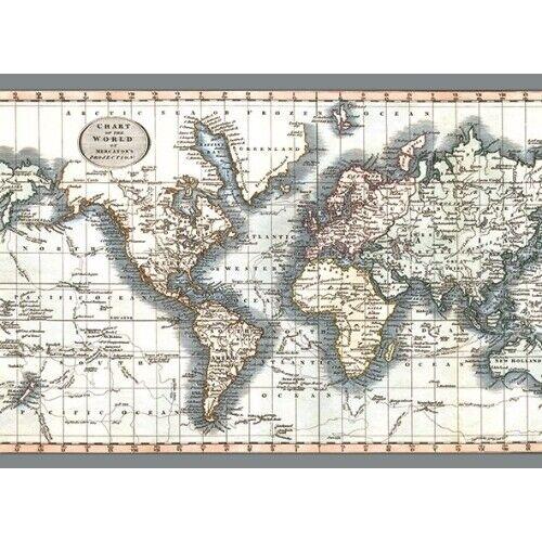 Teppich Weltkarte Mercatorprojektion Gunstig Kaufen Ebay