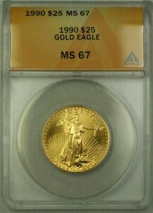 1990-25-American-Gold-Eagle-Coin-AGE-1-2-Oz-ANACS-MS-67-B