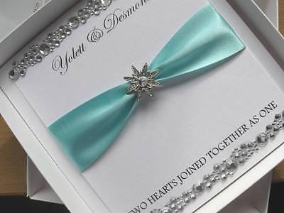 Crystal Wedding Invitation - Luxury Wedding Card - With / Without Box
