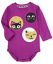 Gymboree NWT Purple PURRFECTLY FABULOUS KITTY CAT BODYSUIT TOP 6 9 12 18 24 M