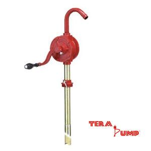 Rotary-Cast-Iron-Drum-Hand-Crank-Rotary-Oil-Fuel-Transfer-Barrel-Manual-Pump