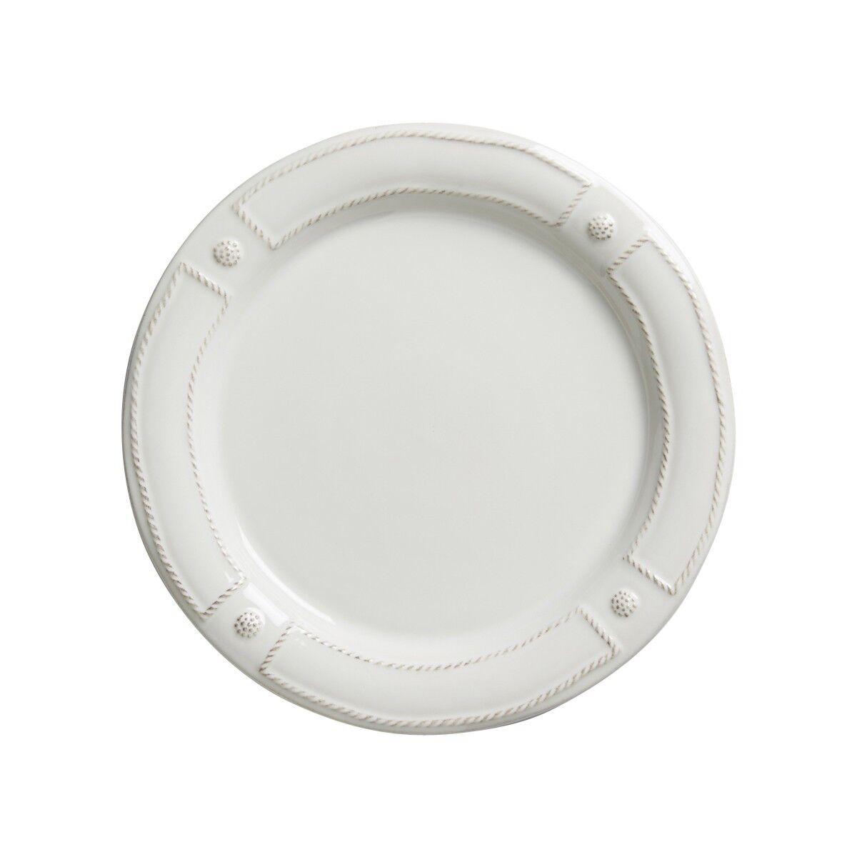 Juliska Berry & Thread French Panel blancwash Dinner Plate - Set of 4