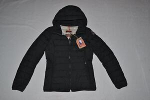 AUTHENTIC-PARAJUMPERS-JULIET-WOMENS-PUFFER-JACKET-BLACK-2XL-XXLARGE-BRAND-NEW