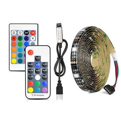 1m-5M USB LED Strip Light 60LED//M TV Background Flexible Night Light Lamp Strips