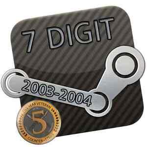Steam-Account-7-Digit-7-stellig-13-Jahre-Years-2004-Original-E-Mail