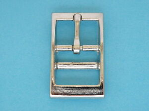 Pull Up Leather Buckle and Cuff Strap Set 2mm thick Brass or Nickle Finish