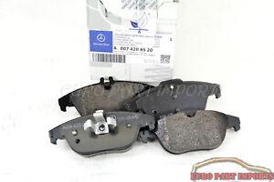 Mercedes benz w204 w207 rear brake pad set germany genuine for Mercedes benz genuine parts germany